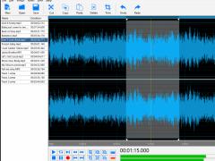 DJ Audio Editor 5.1 Screenshot