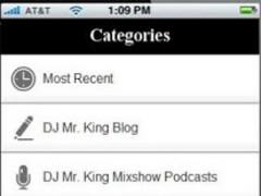 DJ Mr. King Mobile App 2.5.2 Screenshot