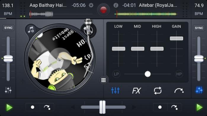 djay FREE – DJ Mix Remix Music