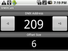 DMXCalc 2.1 Screenshot