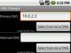 DNS Changer 1.09 Screenshot
