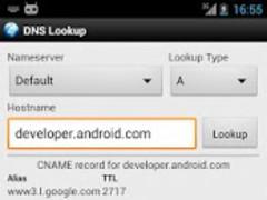 DNS Lookup 1.14 Screenshot