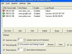 DNS Watcher 1.2 Screenshot