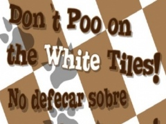 Do Not POO the White Tile Free 1.0 Screenshot