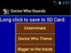 Doctor Who Soundboard Ringtone 1.01 Screenshot
