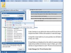 Ablebits.com Link Checker for Word 1.0.1 Screenshot
