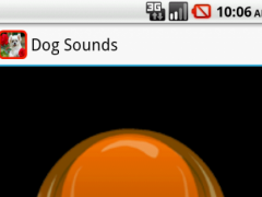 Dog Sounds Button 1.0 Screenshot