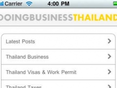 Doing Business Thailand 1.1 Screenshot