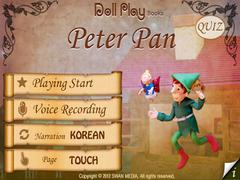 Doll Play books Peter Pan Free 2.0 Screenshot