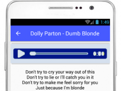 Dolly Parton Lyrics Jolene 1.0 Screenshot