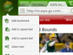 Dolphin Browser Mini 2.3 Screenshot