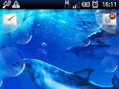 Dolphins and Bubbles LWP 1.2 Screenshot