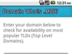 Domain Whois 1.0 Screenshot