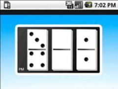 Domino Clock Widget 1.0 Screenshot