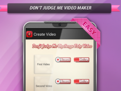 Don't Judge Me Video Maker 1.4 Screenshot