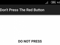 Dont Press The Red Button 1.1 Screenshot