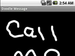Doodle Message 2.0 Screenshot