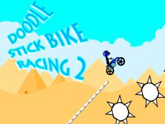 Doodle Stick Bike Racing 2 2.3 Screenshot