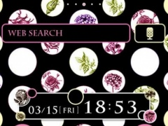 Dots & Flowers Wallpaper Theme 1.5 Screenshot