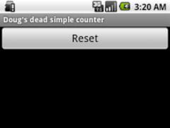 Doug's dead simple counter 1.2 Screenshot