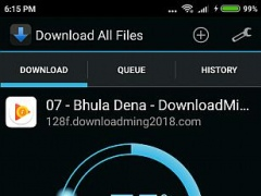 Review Screenshot - Download Manager – Simplifying the Task of Downloading Files