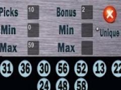 dQuickPick Lotto Generator 1.0 Screenshot