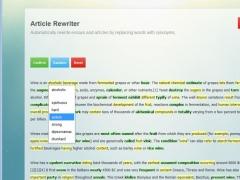 Dr Essay Article Rewriter 1.0 Screenshot