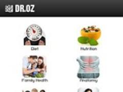 Dr.OZ Recipes 1.0 Screenshot