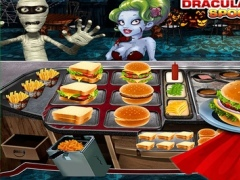 Dracula Ham-burger Spooky Cafe : Master-Chef monster Fast Food Restaurant pro 1.0 Screenshot