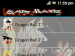 Dragon Ball Z Wallpaper 1.0 Screenshot