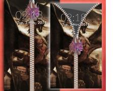 Dragon Zipper Screen Lock 1.0 Screenshot