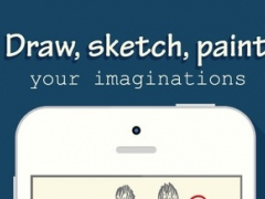 Drawing Book Free - Draw, Paint, Sketch with pencils, brush and palettes with your fingers 1.0 Screenshot