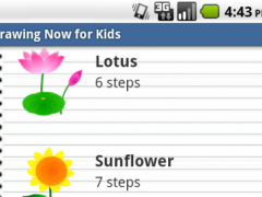 Drawing Now for Kids 1.0.0 Screenshot