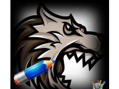 Drawing to Wolf Cartoon 1.0 Screenshot