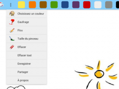 Drawings Board - finger paint 2.1.6 Screenshot