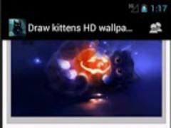 Drawn kittens HD wallpapers 2.0 Screenshot