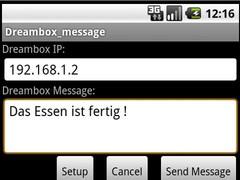 dreambox_message 1.7 Screenshot