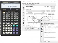 DreamCalc Scientific Graphing Calculator 5.0.0 Screenshot