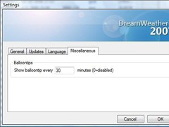 DreamWeather 1.1.0.0 Screenshot