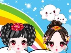 Dressup beautiful girls - Dress up game for kids 1.0 Screenshot