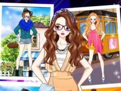 Dressup Grace Girl - Sweet Princess Makeup Diary, Kids Games 1.0 Screenshot