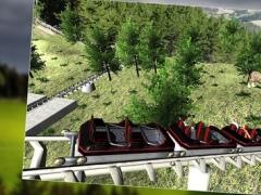 Drive Mountain Valley Roller Coaster Pro 1.2 Screenshot