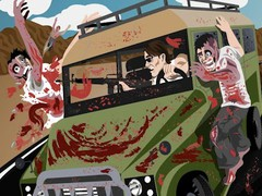 Drive with Zombies 3D 4.1 Screenshot