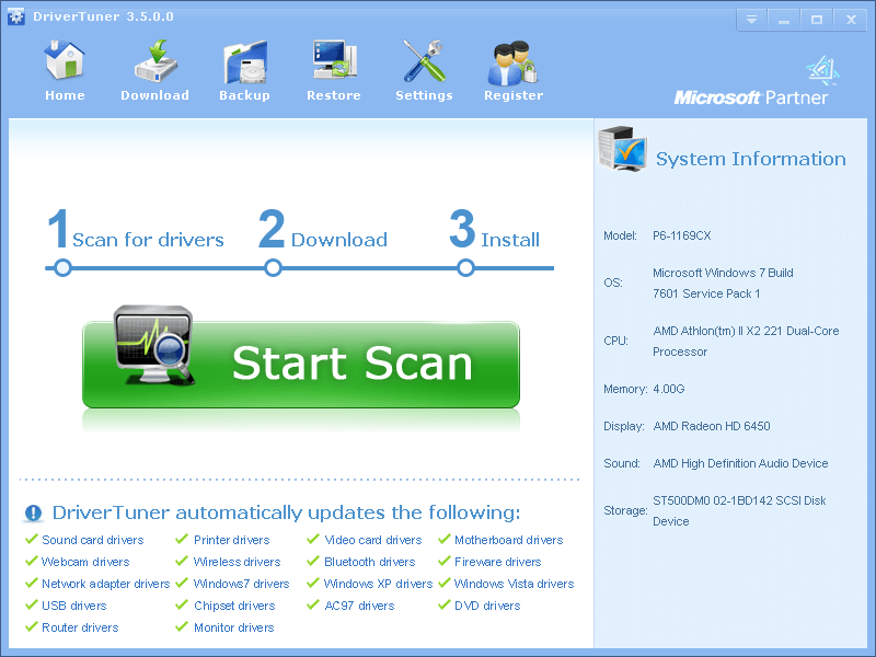 video card driver for windows vista free download