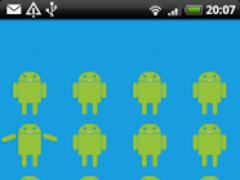 Droid Dancing Live WallPaper 1.0 Screenshot