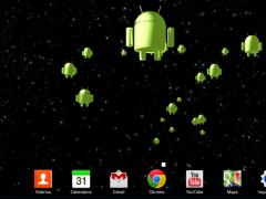 Droid Invasion 3D-Wallpaper 1.2.5 Screenshot