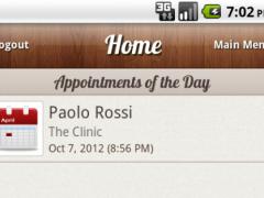 Droid Medical Office LITE 2.4 Screenshot