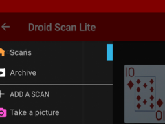 Droid Scan Lite  Screenshot