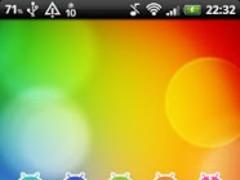 DroidClock Widget 1.2.2 Screenshot