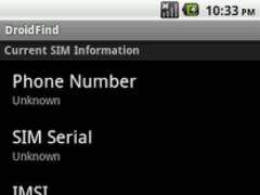 DroidFind 1.9.2 Screenshot